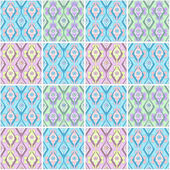 Patchwork seamless ornate pattern background — Stock fotografie