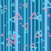 Bright color triangle seamless pattern background — Foto Stock