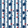 Seamless striped pattern with stars background — Stock Photo #54389767