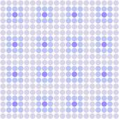 Abstract simple blue circles seamless pattern background — Stockfoto