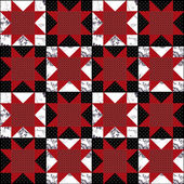 Patchwork abstract pattern texture geometric background — 图库照片