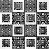 Patchwork retro seamless lace pattern texture background — Stock fotografie
