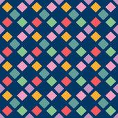 幾何学的要素の背景とのシームレスなパターン — ストック写真