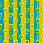 Valentine seamless pattern hearts texture background — Stock Photo