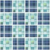 Abstract seamless lace checkered plaid pattern background — ストック写真