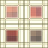 Seamless retro textile tartan checkered texture plaid pattern ba — Stockfoto