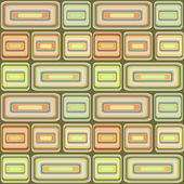 Abstract modern squares seamless pattern texture on retro backgr — Stockfoto