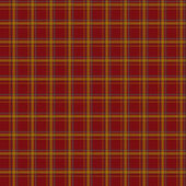 Seamless retro textile tartan red checkered texture plaid patter — Stockfoto