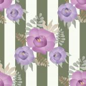 Flowers retro abstract seamless pattern texture background — Stock Photo