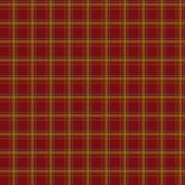 Seamless retro textile tartan red checkered texture plaid patter — Stock Photo