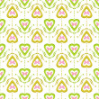 Valentine seamless pattern with hearts texture background — Stock Photo #59360579
