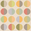 Retro abstract circle seamless pattern vintage background — Stock Photo #60241523