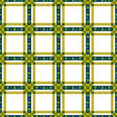 Seamless retro textile tartan checkered texture plaid pattern ba — Stock Photo