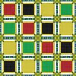 Seamless retro textile tartan checkered texture plaid pattern ba — Stock Photo #61401629