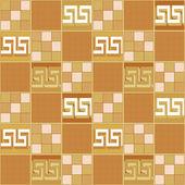 пэчворк бесшовный образец с геометрическими цветами ретро элементов — Стоковое фото