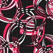 Seamless pattern abstract modern elements texture background — Stock Photo