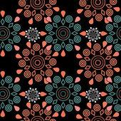Ornamental seamless pattern geometric elements texture backgroun — Stock Photo
