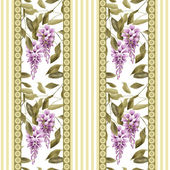 Abstract elegance seamless pattern with glicinia flowers backgro — Stock Photo