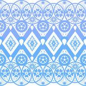 Seamless geometric lace elements pattern illustration ornamental — Stock Photo