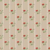 Retro colors geometrical floral pattern texture background — Stock Photo