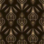Seamless beautiful antique pattern ornament. Geometric backgroun — Stock Vector