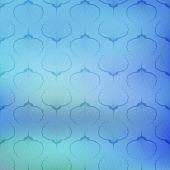Mavi deniz geometrik vektör desen doku üzerinde arka plan bulanık. — Stok Vektör