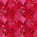 Seamless jeans denim patchwork pattern — Stock Photo #76530559