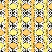Seamless antique pattern ornament geometric art deco stylish bac — Stock Photo