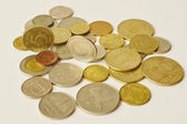 Pile of old coins — Stock Photo