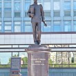 Постер, плакат: PERM RUSSIA JUN 11 2013: Monument to Alexander Popov the fa
