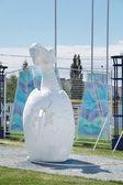 PERM, RUSSIA - JUN 11, 2013: Perm bestiary. Exhibition imaginary — Stock Photo