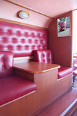 PERM, RUSSIA - JUN 11, 2013: Interior of bus cafe Kentucky Fried — Foto Stock