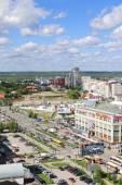 PERM, RUSSIA - JUNE 25, 2014: Shopping center iceberg. 47 shoppi — Stock Photo