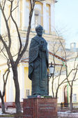 PERM, RUSSIA - APR,25, 2014: Monument to Saint Nicholas was esta — Foto Stock