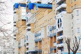 Perm, Russland - 25. April 2014: Wohnhaus. Bevölkerung von — Stockfoto