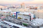 PERM, RUSSIA - December 09, 2014: Shopping complex Iceberg — Stock Photo