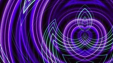 Abstract loop motion background, purple light — Stockvideo