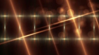 Gold abstract background, loop — Stock Video