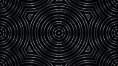 Black and white abstract background, loop — Stock Video