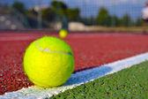 Bola de tênis — Fotografia Stock