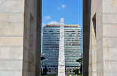 Obelisk EUR — Stock Photo