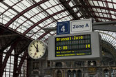 Antwerp Central Station — Stock Photo