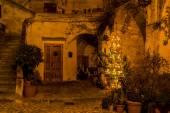 Matera night — Stock Photo