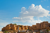 Jaisalmer Fort , the Golden City of Rajasthan — Stock Photo