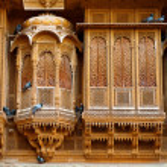 Beautiful Patwon ki Haveli palace — Stock Photo #52765539