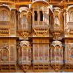 The beautiful Patwon ki Haveli palace — Stock Photo #59231915