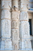 Architectural detail of Birla Mandir — Stock Photo