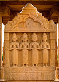 The royal cenotaphs of historic rulers — Stock Photo