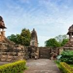 The famous temples of Khajuraho — Stock Photo #62999481