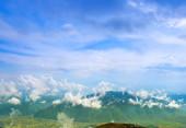 Beautiful landscape in the Carpathian Mountains, Ukraine — Stock Photo